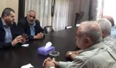 وفد من حزب الله يلتقي قيادات فتح وحماس والجهاد الإسلامي في منطقة صيدا