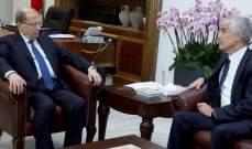 الرئيس عون استقبل سفير الجزائر في لبنان أحمد بوزيان
