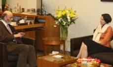 جعجع التقى سفيرة أستراليا وبحثا آخر التطورات السياسية