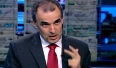 وهبي:موقف لبنان الموحد يساعد بالحفاظ على الإستقرار وأستبعد تحالف المستقبل-أمل