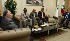 إبراهيم التقى وزير الشؤون الاثيوبي وبحث معه قضايا تتعلّق بالعمّال المهاجرين