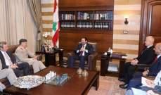 الحريري بحث مع رئيس هيئة اركان الدفاع البريطانية في التعاون العسكري والتقى الشعار