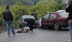 النشرة: جريحان نتيجة حادث سير على طريق الغازية