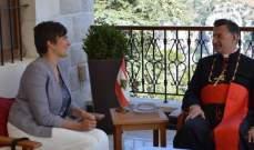 الراعي استقبل سفيري كندا وايران ووفدا من جامعة القدس