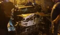 قتيل وعدد من الجرحى في حادث سير مروع على طريق عام بلدة بينو