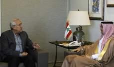 سليمان استقبل البخاري: لتحسين العلاقات مع العرب وتحصين لبنان