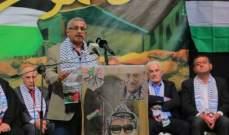 أسامة سعد: على قوى المقاومة والتحرر والتقدم في العالم العربي توحيد صفوفها