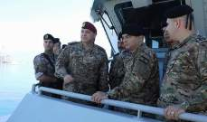 قائد الجيش: التحدي الأكبر الذي يواجهنا حاليا هو ضبط الحدود البحرية