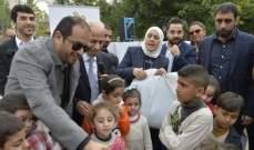 الشامسي: ندرك حجم الأعباء الملقاة على عائق لبنان نتيجة ضغط النزوح السوري