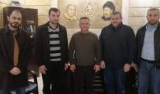"""وفد من """"حزب الله"""" زار قيادة """"حركة أمل"""" بصيدا وجرى التطرق لمختلف الأوضاع السياسية"""