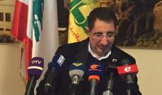 الحاج حسن بعد لقاء بستاني: سيتم إجراء دراسة حول محطة إيعات ومحطة اليمونة