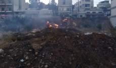 الدفاع المدني:إخماد 3 حرائق أعشاب يابسة في الحوش وجوار الباشق وحوش الأمراء