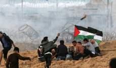 إصابة عدد من الفلسطينيين برصاص الجيش الإسرائيلي على حدود قطاع غزة