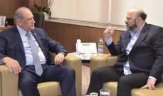 الرياشي أكد ضرورة ضبط كل الايقاع السياسي في لبنان