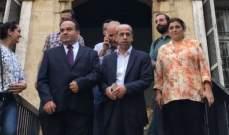 خير تفقد ووفدا تركيا ثانوية حسن خالد في حوض الولاية بعد توقيع بروتوكول لترميمها