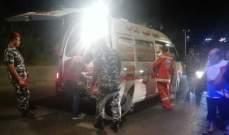 النشرة: سقوط 3 جرحى بحادث سير على طريق عام تول النبطية