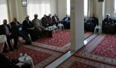 لقاء تشاوري لفعاليات دينية في دارة الإفتاء الجعفري بمدينة جبيل