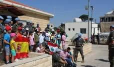 الكتيبة الاسبانية في اليونيفيل نظمت مخيما صيفيا للأطفال في برج الملوك