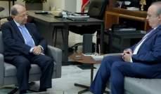 وهاب: إرتحت الى جهود الرئيس عون الكبيرة لدعم العيش الواحد في الجبل