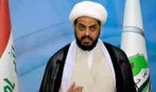 """الخزعلي: حركة """"عصائب أهل الحق"""" أصبحت حزبا سياسيا"""