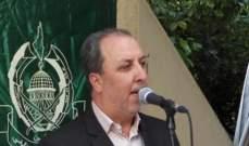 جهاد طه: الشعب الفلسطيني متمسك بحقوقه وهويته الوطنية ومشروعه المقاوم