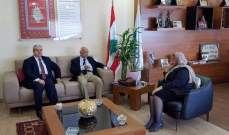 رئيسة الجامعة الاسلامية التقت ممثل مجلس التنمية المستقل في بغداد
