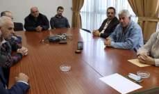 مدير عام مؤسسة مياه لبنان عرض مع ناصيف عيسى اوضاع المياه بصيدا