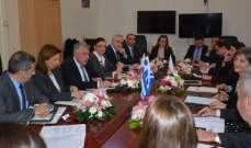 اجتماع في الخارجية تحضيرا للقاء الثلاثي اللبناني القبرصي اليوناني
