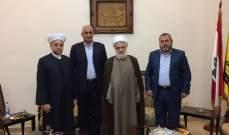 عبد الرزاق: نشيد بمواقف عون وبري بإدارة الأزمة المفتعلة في لبنان