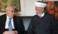 دريان: للتعاون مع الحريري لإنجاز التشكيلة الحكومية لأننا بوضع مقلق