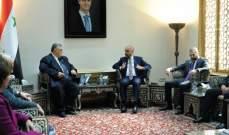 صباغ التقى وفدا برلمانيا أردنيا: لتفعيل عمل لجنة الأخوة البرلمانية الأردنية- السورية