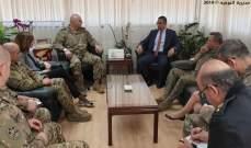 قائد الجيش التقى قائد الحرس الوطني القبرصي في نيقوسيا