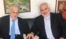 فتحعلي بعد زيارته الحص: نعاهدك بأن ايران ستبقى داعما رئيسيا لقضية فلسطين