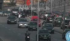 جريح نتيجة تصادم بين مركبتين على جسر الرينغ