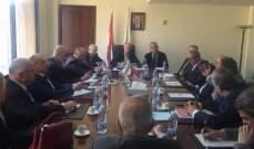 وزير البيئة التقى نواب بعبدا عون وديب وبوعاصي