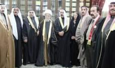 النابلسي التقى وفداً من العشائر السورية: سوريا ستعود قوية منيعة