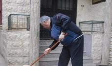 دبور شارك في حملة نظافة في مخيم برج البراجنة