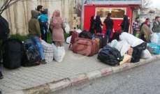 النشرة: بدء تجمع النازحين أمام مركزي المصنع والقاع تمهيدا لعودتهم