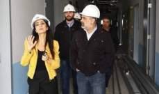 ترزيان زار مستشفى الكرنتينا الحكومي وتسلم من الموظفين بعض المطالب