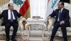 الرئيس عون شدد بعد لقائه الجبوري على وحدة الموقف العربي بالمرحلة المقبلة