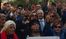 لجان المستأجرين اعتصمت وطالبت الحريري بالوفاء بوعده بتعديل قانون الإيجارات