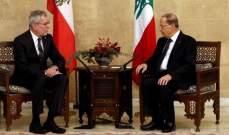 رئيس النمسا: مستعدون لدعم لبنان بمسار السلام والتنمية السلمية