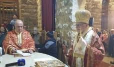 المطران درويش احتفل بعيد القديس يوسف في حوش الأمراء