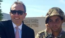سفير بريطانيا: مستمرون في دعم اللاجئين الفلسطينيين في لبنان