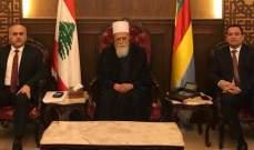 أبو الحسن والصايغ تابعا الأوضاع العامة مع الشيخ نعيم حسن