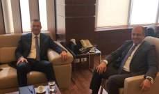 درويش بحث مع بو عاصي ملف المستفيدين من وزارة الشؤون الاجتماعية بطرابلس