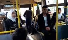 النشرة: عودة اكبر دفعة للنازحين السوريين الى بلادهم اليوم