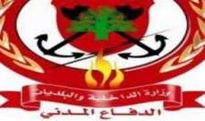 الدفاع المدني: جريح في حادث مروري في جعيتا