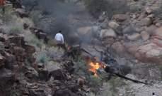 مقتل 3 أشخاص وإصابة 4 آخرين في تحطم مروحية في ولاية أريزونا
