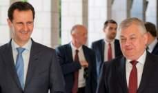 الأسد:روسيا شريكة بالإنتصارات في سوريا التي لن تتوقف حتى القضاء على الإرهاب